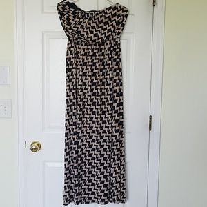 SALE 2 FOR $8 Strapless maxi dress